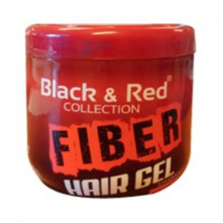 Black&Red FIBER RED Hair Gel