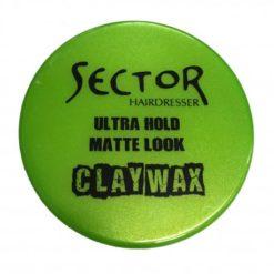 Sector hair wax