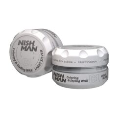 Nish Man Coloring Wax Silver