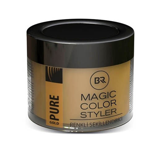 Black & Red Magic Styler Color Hair Wax